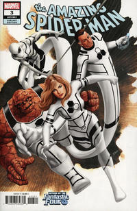 Cover Thumbnail for Amazing Spider-Man (Marvel, 2018 series) #3 (804) [Variant Edition - Return of the Fantastic Four - Steve Epting Cover]