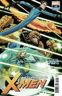 Cover Thumbnail for Astonishing X-Men (Marvel, 2017 series) #14 [Adam Kubert 'Return of the Fantastic Four']
