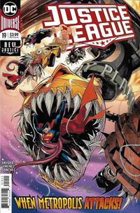 Cover Thumbnail for Justice League (DC, 2018 series) #19 [Jorge Jimenez Cover]