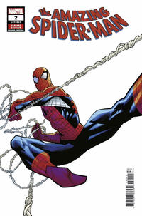 Cover Thumbnail for Amazing Spider-Man (Marvel, 2018 series) #2 (803) [Variant Edition - Second Printing - Ryan Ottley Cover]