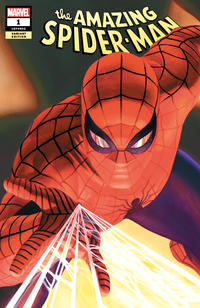 Cover Thumbnail for Amazing Spider-Man (Marvel, 2018 series) #1 (802) [Variant Edition - Alex Ross Exclusive]