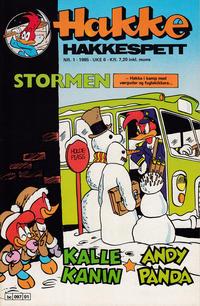 Cover Thumbnail for Hakke Hakkespett (Semic, 1977 series) #1/1985
