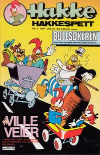 Cover Thumbnail for Hakke Hakkespett (Semic, 1977 series) #9/1984