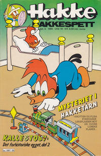 Cover Thumbnail for Hakke Hakkespett (Semic, 1977 series) #5/1984