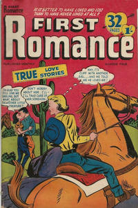 Cover Thumbnail for First Romance (Magazine Management, 1952 series) #4