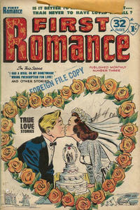 Cover Thumbnail for First Romance (Magazine Management, 1952 series) #3