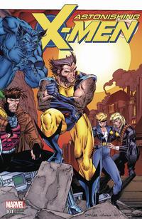 Cover Thumbnail for Astonishing X-Men (Marvel, 2017 series) #1 [Jim Lee Remastered Wraparound]