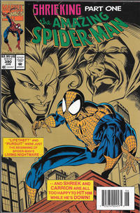 Cover for The Amazing Spider-Man (Marvel, 1963 series) #390 [Bagged Direct Edition]