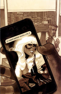 Cover Thumbnail for Amazing Spider-Man (Marvel, 2018 series) #1 (802) [Variant Edition - Comic Sketch Art Exclusive - Adam Hughes Sepia Cover]