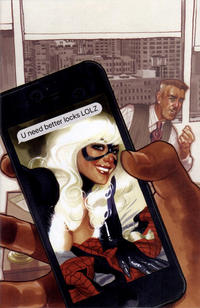Cover Thumbnail for Amazing Spider-Man (Marvel, 2018 series) #1 (802) [Variant Edition - Comic Sketch Art Exclusive - Adam Hughes Virgin Cover]