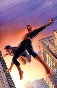 Cover for Amazing Spider-Man (Marvel, 2018 series) #1 (802) [Variant Edition - Unknown Comics Exclusive - Tyler Kirkham Connecting Cover]