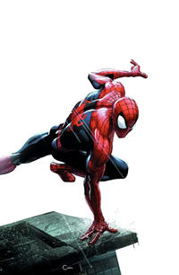 Cover Thumbnail for Amazing Spider-Man (Marvel, 2018 series) #1 (802) [Variant Edition - ComicXposure Exclusive - Clayton Crain Whiteout Virgin Cover]