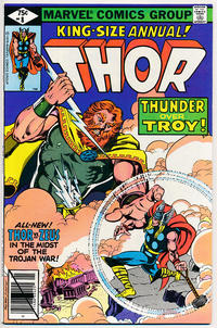 Cover Thumbnail for Thor Annual (Marvel, 1966 series) #8 [Direct]
