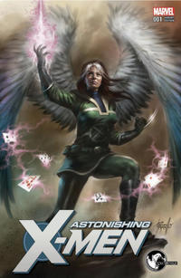 Cover Thumbnail for Astonishing X-Men (Marvel, 2017 series) #1 [Unknown Comics Exclusive Lucio Parrillo Color]