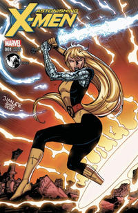 Cover Thumbnail for Astonishing X-Men (Marvel, 2017 series) #1 [Unknown Comics Exclusive Jim Lee Remastered (Magik)]