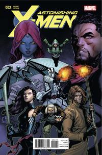Cover Thumbnail for Astonishing X-Men (Marvel, 2017 series) #2 [Ryan Stegman]