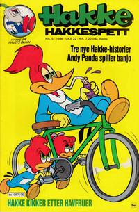 Cover Thumbnail for Hakke Hakkespett (Semic, 1977 series) #5/1986