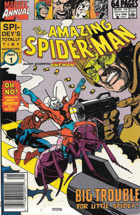 Cover Thumbnail for The Amazing Spider-Man Annual (Marvel, 1964 series) #24 [Newsstand]