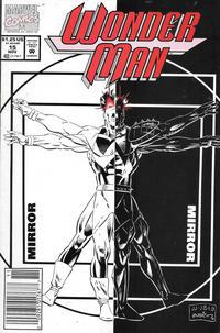 Cover Thumbnail for Wonder Man (Marvel, 1991 series) #15 [Newsstand]