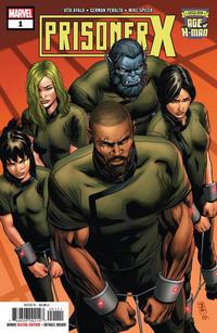 Cover Thumbnail for Age of X-Man: Prisoner X (Marvel, 2019 series) #1