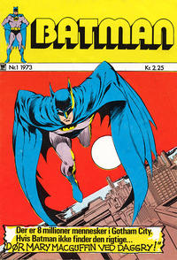 Cover Thumbnail for Batman (Williams, 1971 series) #1/1973