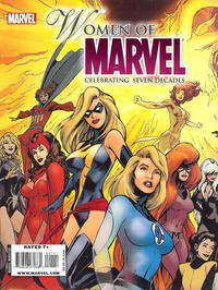 Cover Thumbnail for Women of Marvel: Celebrating Seven Decades Magazine (Marvel, 2010 series) #1 [Cover A by Alan Davis]