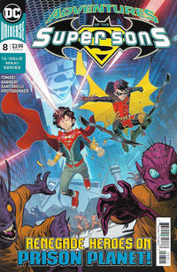 Cover for Adventures of the Super Sons (DC, 2018 series) #8
