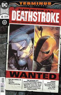 Cover Thumbnail for Deathstroke (DC, 2016 series) #41 [Tyler Kirkham Cover]