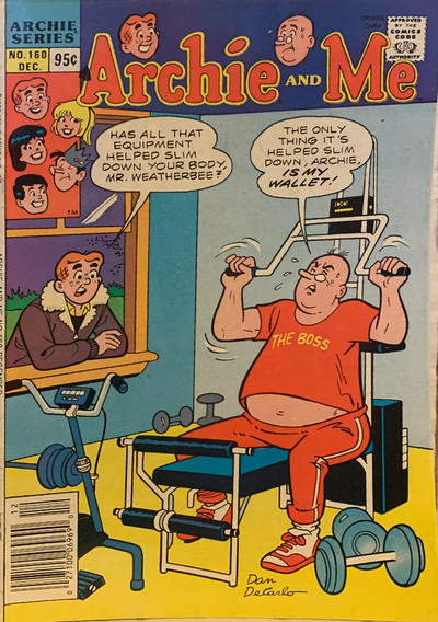 Cover for Archie and Me (Archie, 1964 series) #160