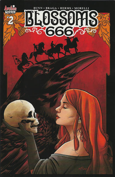 Cover for Blossoms: 666 (Archie, 2019 series) #2 [Cover A Laura Braga]