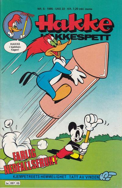 Cover for Hakke Hakkespett (Semic, 1977 series) #5/1985