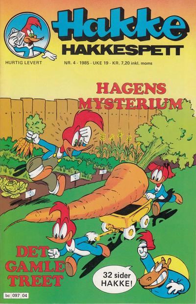 Cover for Hakke Hakkespett (Semic, 1977 series) #4/1985