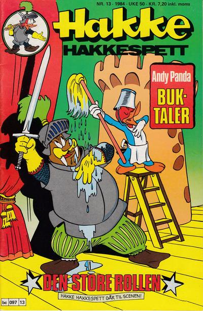 Cover for Hakke Hakkespett (Semic, 1977 series) #13/1984