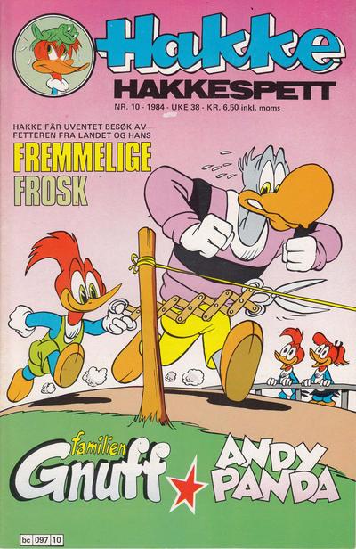 Cover for Hakke Hakkespett (Semic, 1977 series) #10/1984
