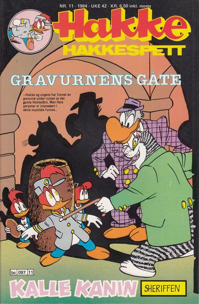 Cover for Hakke Hakkespett (Semic, 1977 series) #11/1984