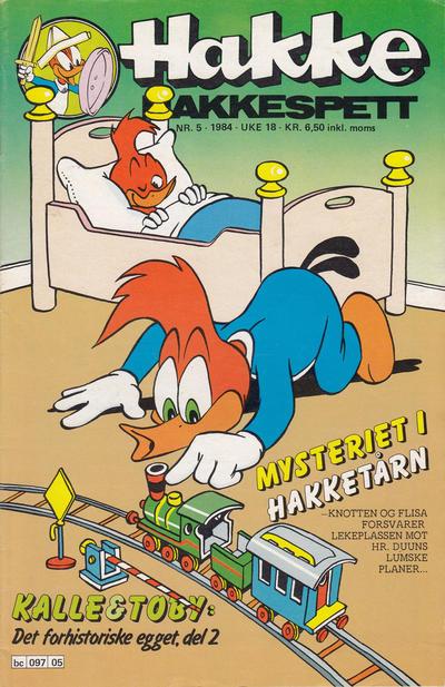 Cover for Hakke Hakkespett (Semic, 1977 series) #5/1984