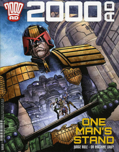 Cover for 2000 AD (Rebellion, 2001 series) #2121
