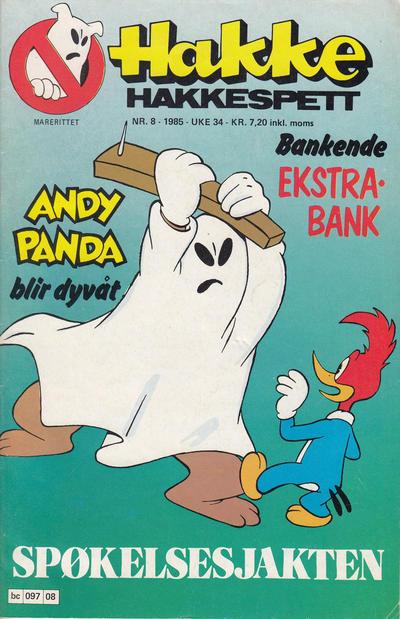 Cover for Hakke Hakkespett (Semic, 1977 series) #8/1985