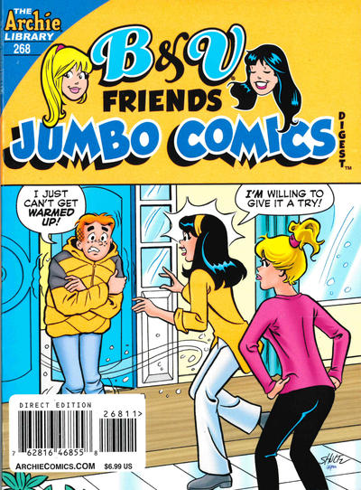 Cover for B&V Friends Double Digest Magazine (Archie, 2011 series) #268