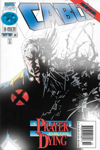 Cover for Cable (Marvel, 1993 series) #36 [Newsstand]