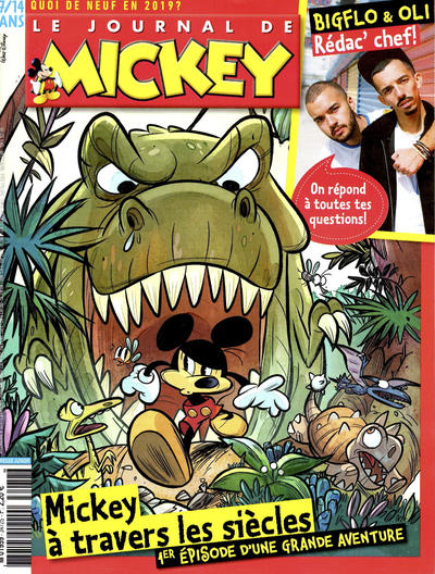 Cover for Le Journal de Mickey (Disney Hachette Presse, 1952 series) #3472