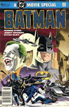 Cover for Batman: The Official Comic Adaptation of the Warner Bros. Motion Picture (DC, 1989 series) #[nn - Regular] [Newsstand]