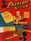 Cover for The Phantom (Feature Productions, 1949 series) #194