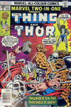 Cover for Marvel Two-in-One (Marvel, 1974 series) #22 [British]