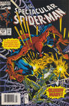 Cover for The Spectacular Spider-Man (Marvel, 1976 series) #214 [Newsstand]