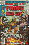 Cover for Marvel Two-in-One (Marvel, 1974 series) #25 [British]