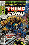 Cover for Marvel Two-in-One (Marvel, 1974 series) #26 [British]