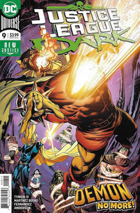 Cover Thumbnail for Justice League Dark (DC, 2018 series) #9 [Alvaro Martinez Bueno & Raul Fernandez Cover]