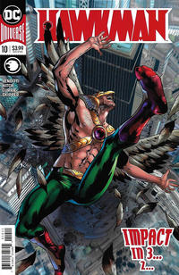 Cover Thumbnail for Hawkman (DC, 2018 series) #10 [Bryan Hitch Cover]