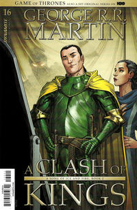 Cover Thumbnail for George R.R. Martin's A Clash of Kings (Dynamite Entertainment, 2017 series) #16 [Cover A Mike S. Miller]